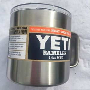 Yeti 14 oz insulated tumbler with lid